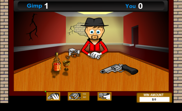 russian roulette flash game